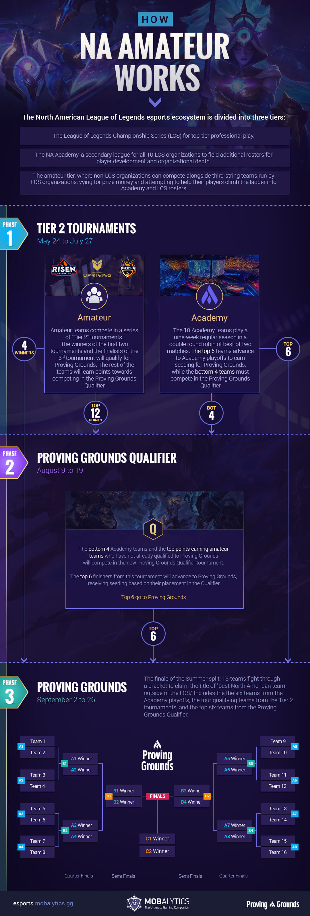 How NA Amateur Works